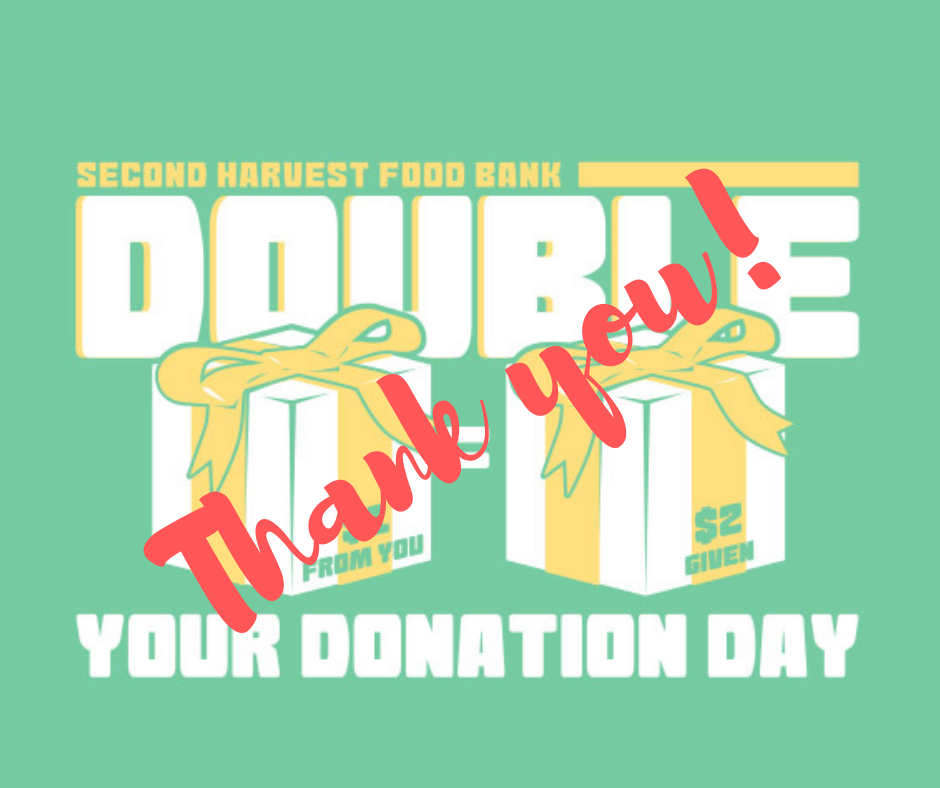 Tremendous Success for Double Your Donation Day 2018!
